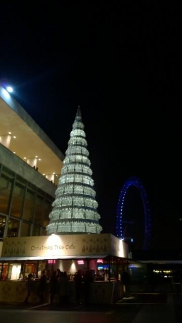 southbank christmas tree cafe