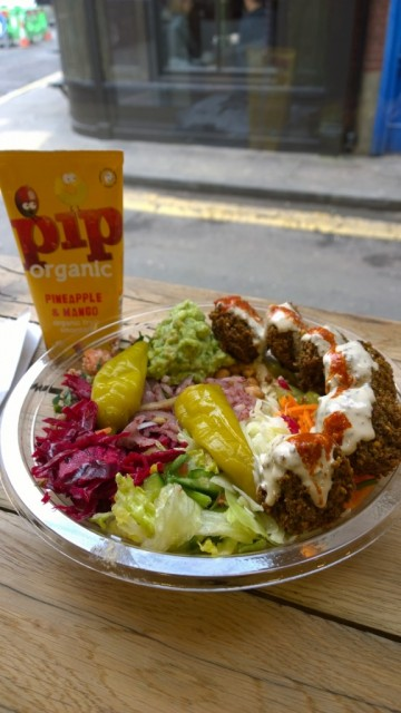 Pilpel falafel and hummus in London
