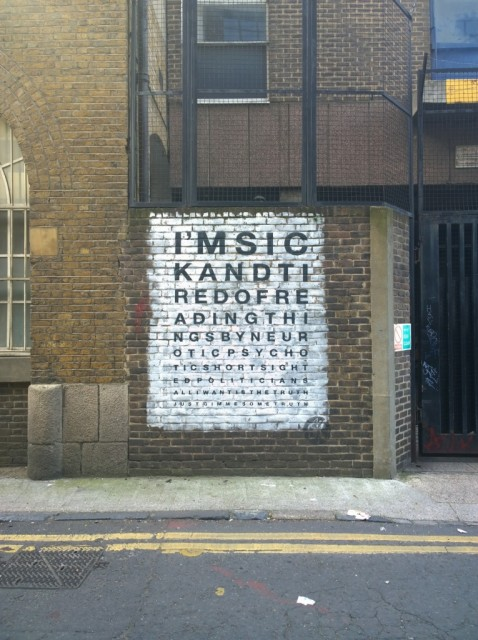 Gimme Some Truth lyrics - John Lennon - Shoreditch Street Art