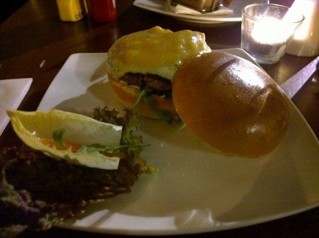Louisiana burger - Hache, Camden review