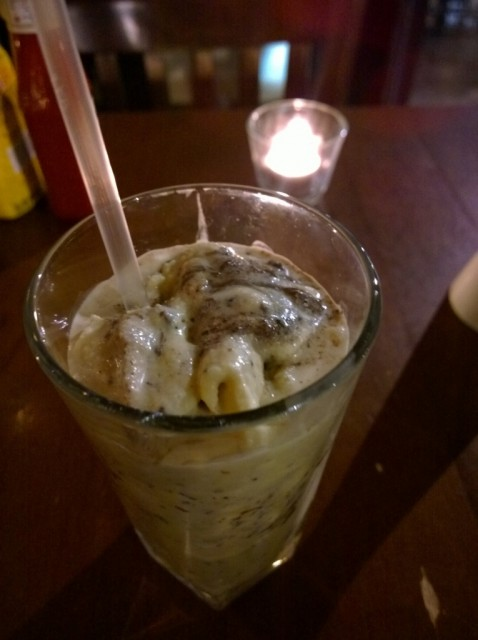 Oreo and nutella milkshake - Hache, Camden review (2)