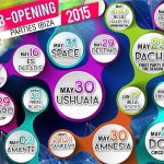 Ibiza club opening parties summer 2015