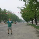 Jonny Blair backpacking in Kaesong – North Korea