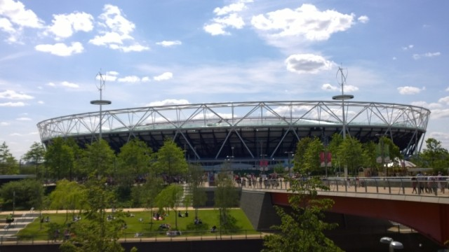 Olympic Park from across canal
