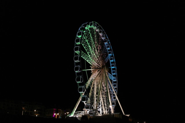 Brighton Wheel pier night