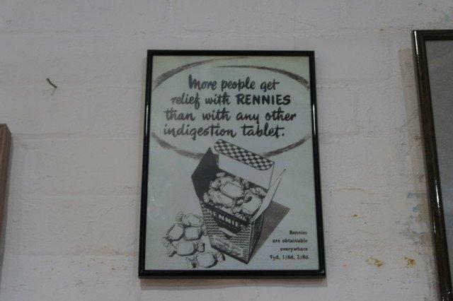 Rennie old advertisement
