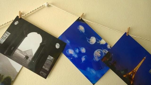 Cheap way to hang photos on wall