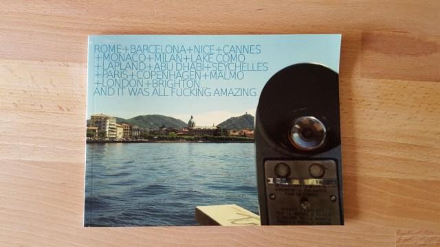 Travel digital photo album idea