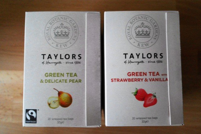 Taylor's of Harrogate green tea