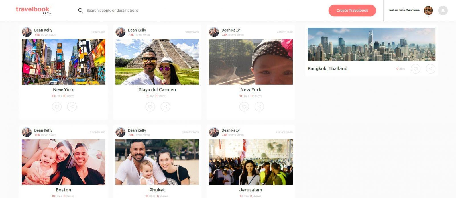 Travelbook Sample Profile