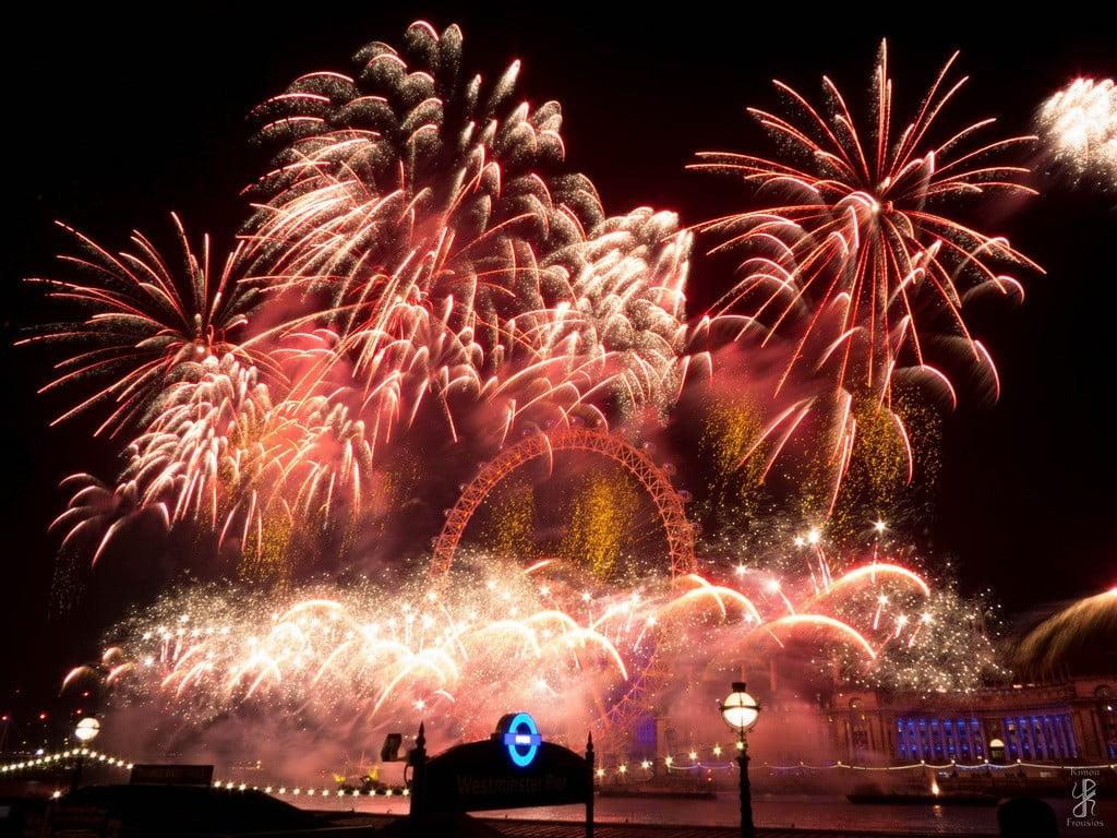 fireworks london photo