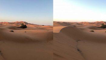 hdr desert