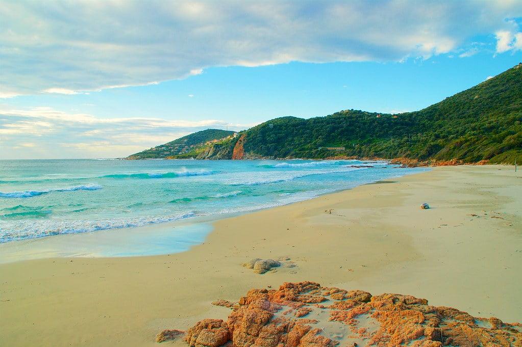 corsica beach photo