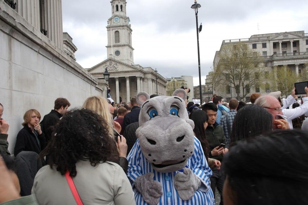 Photos: International Pillow Fight Day 2014, Trafalgar Square 16