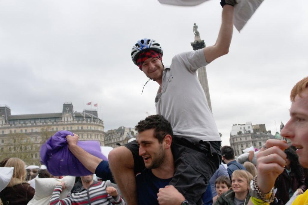 Photos: International Pillow Fight Day 2014, Trafalgar Square 8