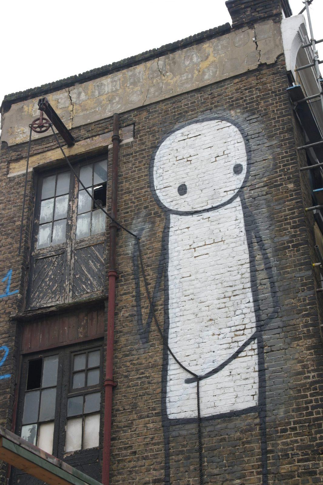 New Street Art in London: Alternative London Walking Tour Review 41