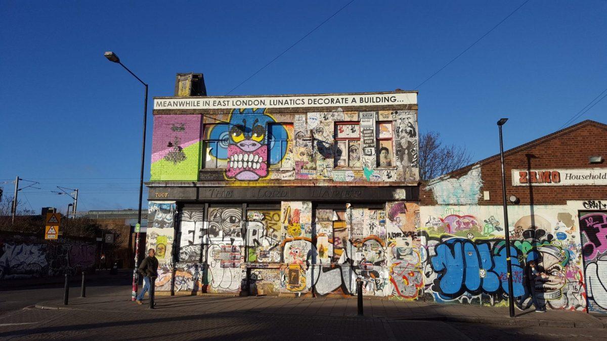 New Street Art in London: Alternative London Walking Tour Review 37