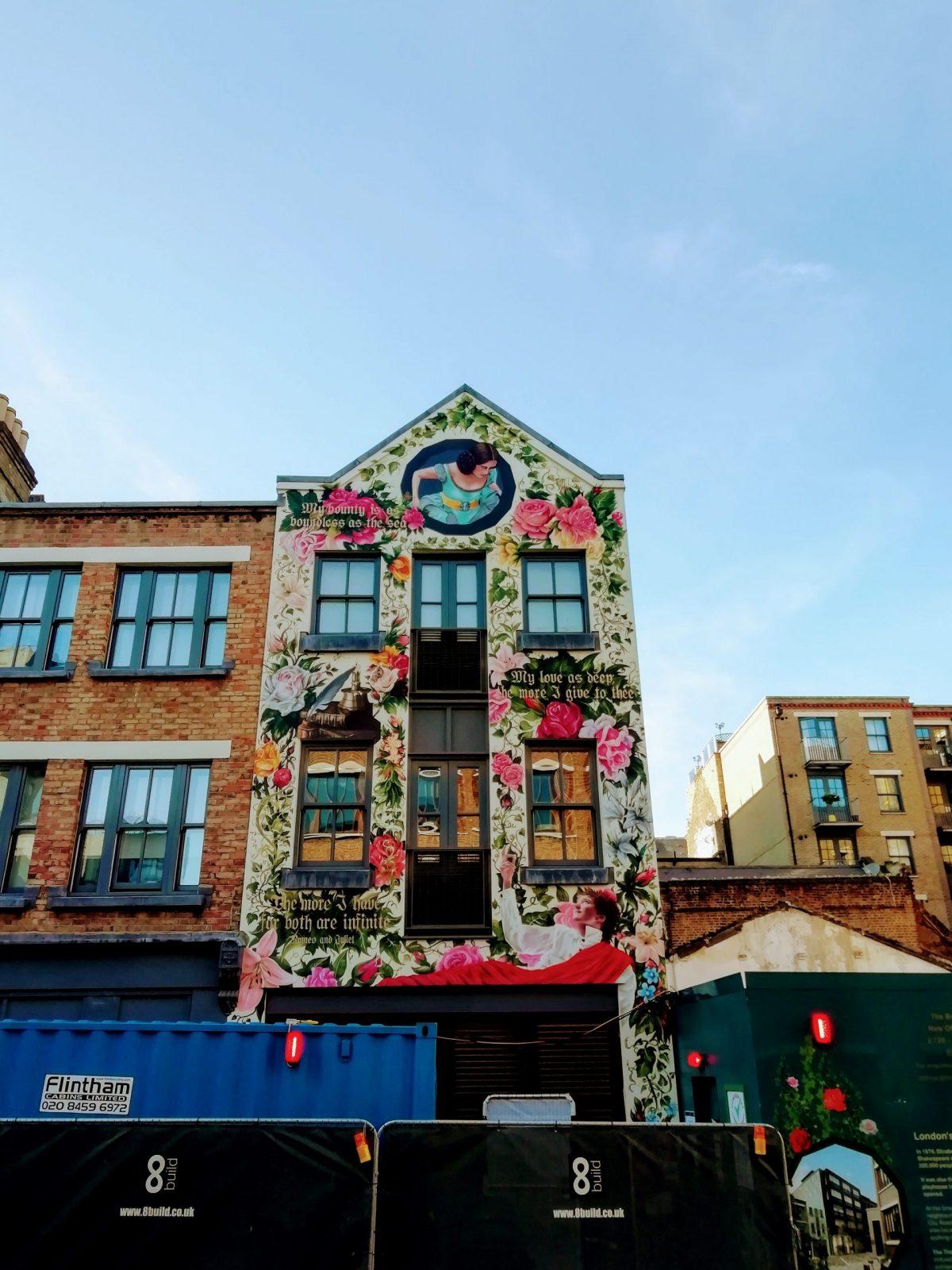 New Street Art in London: Alternative London Walking Tour Review 34