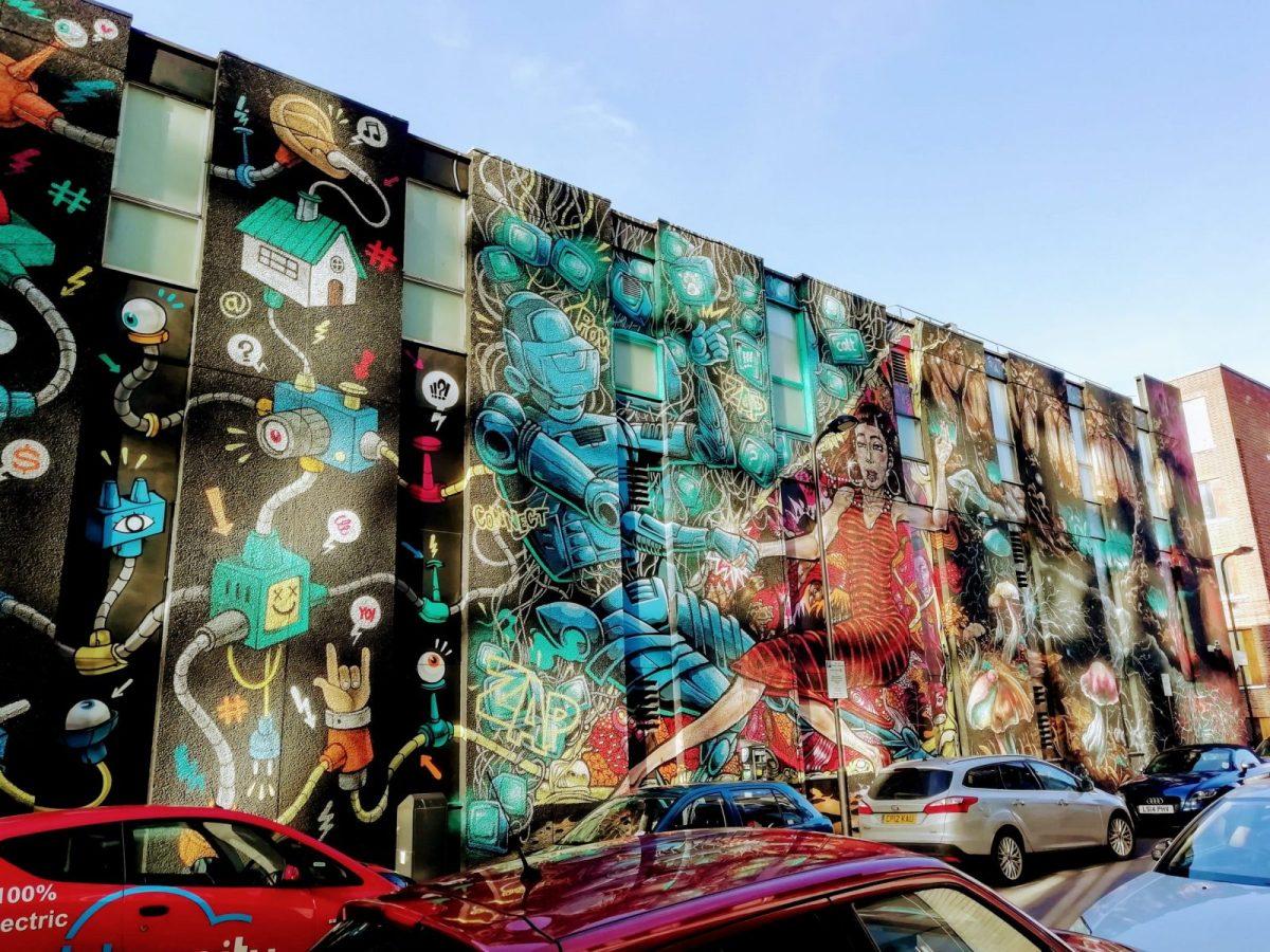 New Street Art in London: Alternative London Walking Tour Review 33