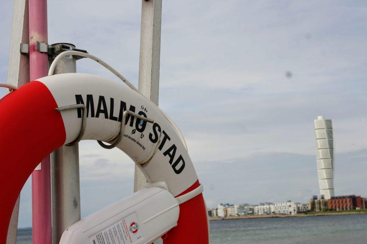 Turning Torso, Malmö swimming ring