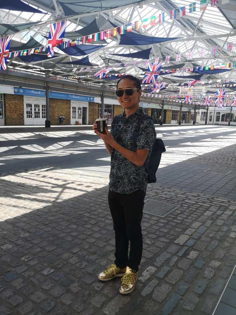 Visiting Greenwich Market Post Lockdown 2