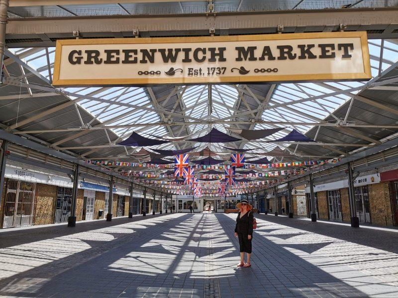 Visiting Greenwich Market Post Lockdown 1