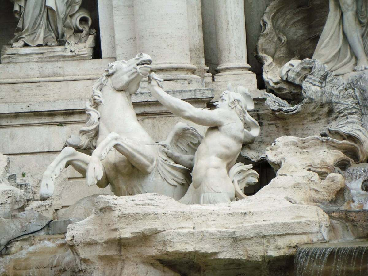 In Photos: Trevi Fountain Facts 2