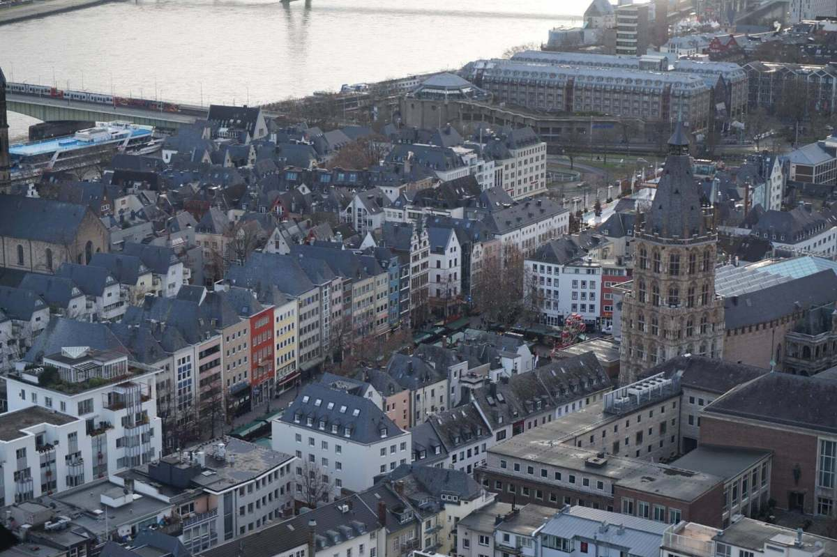 Cologne's Cathedral, Love Lock Bridge & Koln Triangle: A Walk Of Surprises 14