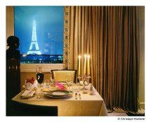 Eiffel Tower Paris Hotel Room with View