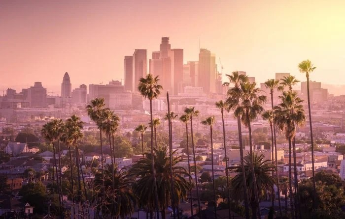 los angeles property markets sunset view