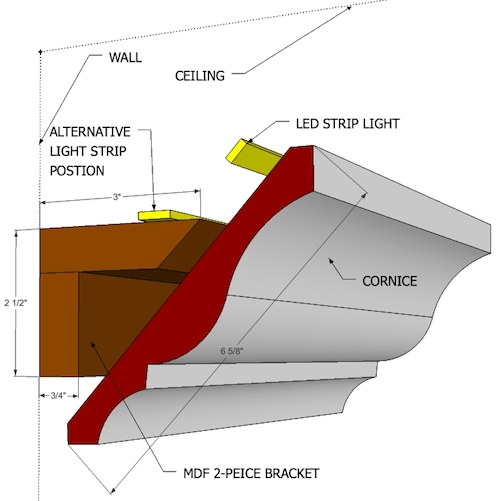 led cove lighting bracket 5