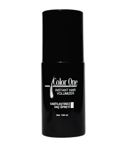 COLOR ONE SET HAIR BUILDING SPRAY DONKERBRUIN 100 ML + 25 GRAM - ELITHAIR.NL