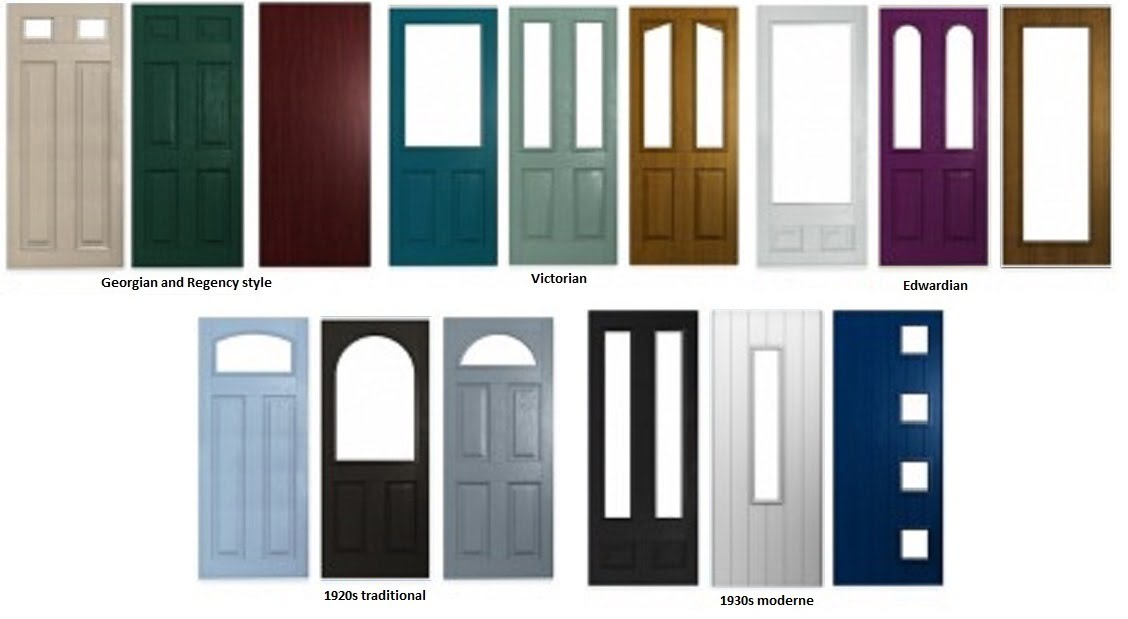 Stay classy with a traditional front door