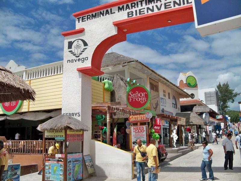Muelle Playa del Carmen