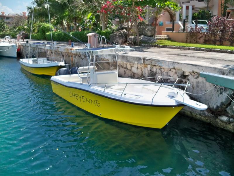 Puerto Aventuras bote