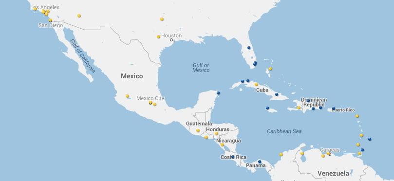 Vuelos y destinos de Condor desde Mexico
