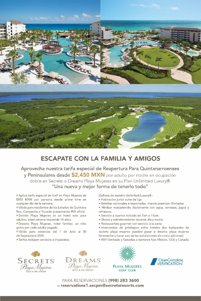 Secrets Playa Muyeres