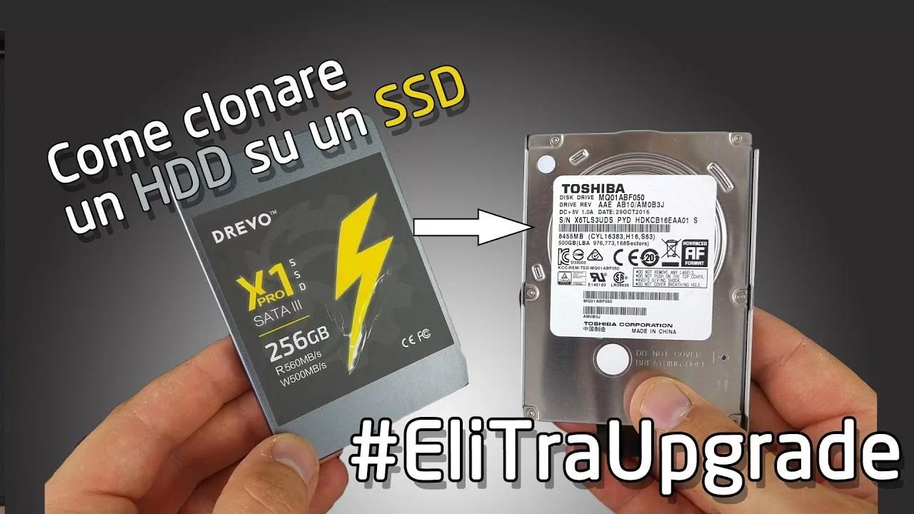 Come clonare un Hard Disk | #EliTraGuide