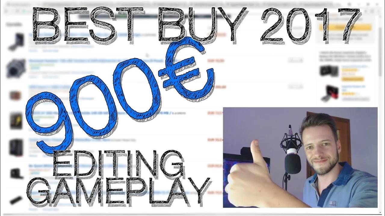 Configurazione PC da Editing Gaming a 900€ –  Build Best Buy