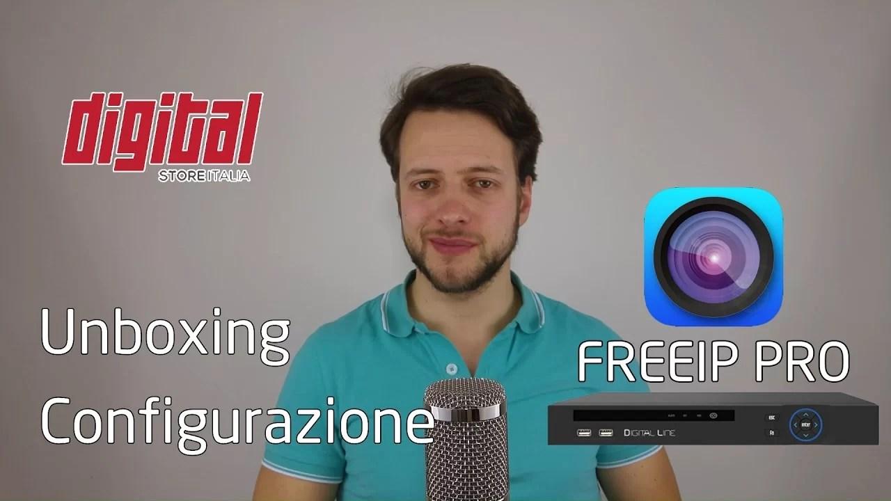 Configurazione DVR Digital Line Italy – Monitoraggio da remoto | FREEIP PRO | 4K
