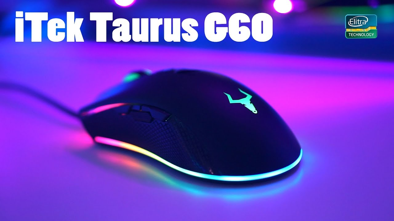 Itek Taurus G60 – MOUSE DA GAMING RAINBOW!
