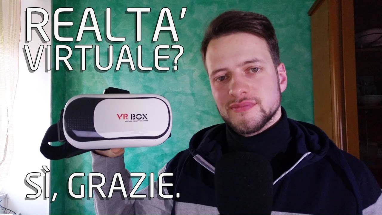 Regali di natale? VR BOX Cos'è e a cosa serve? | Realtà virtuale | 4K