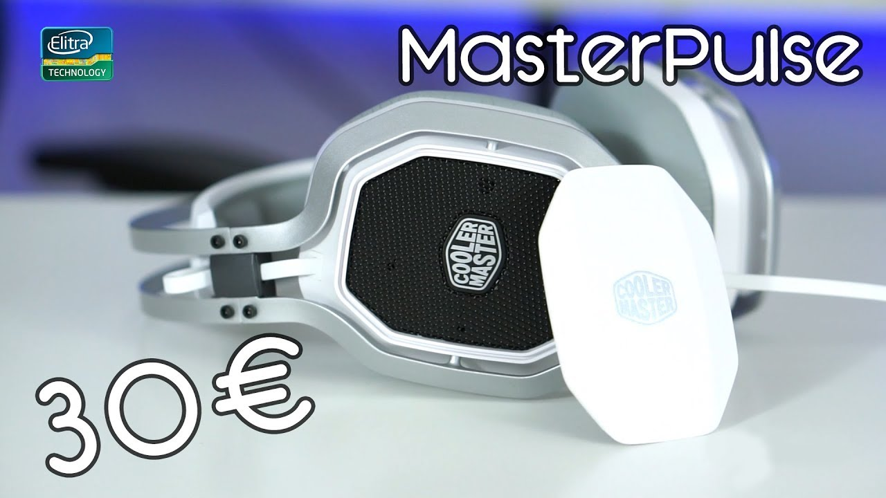 Recensione Cooler Master Masterpulse | Cuffie da gaming economiche!
