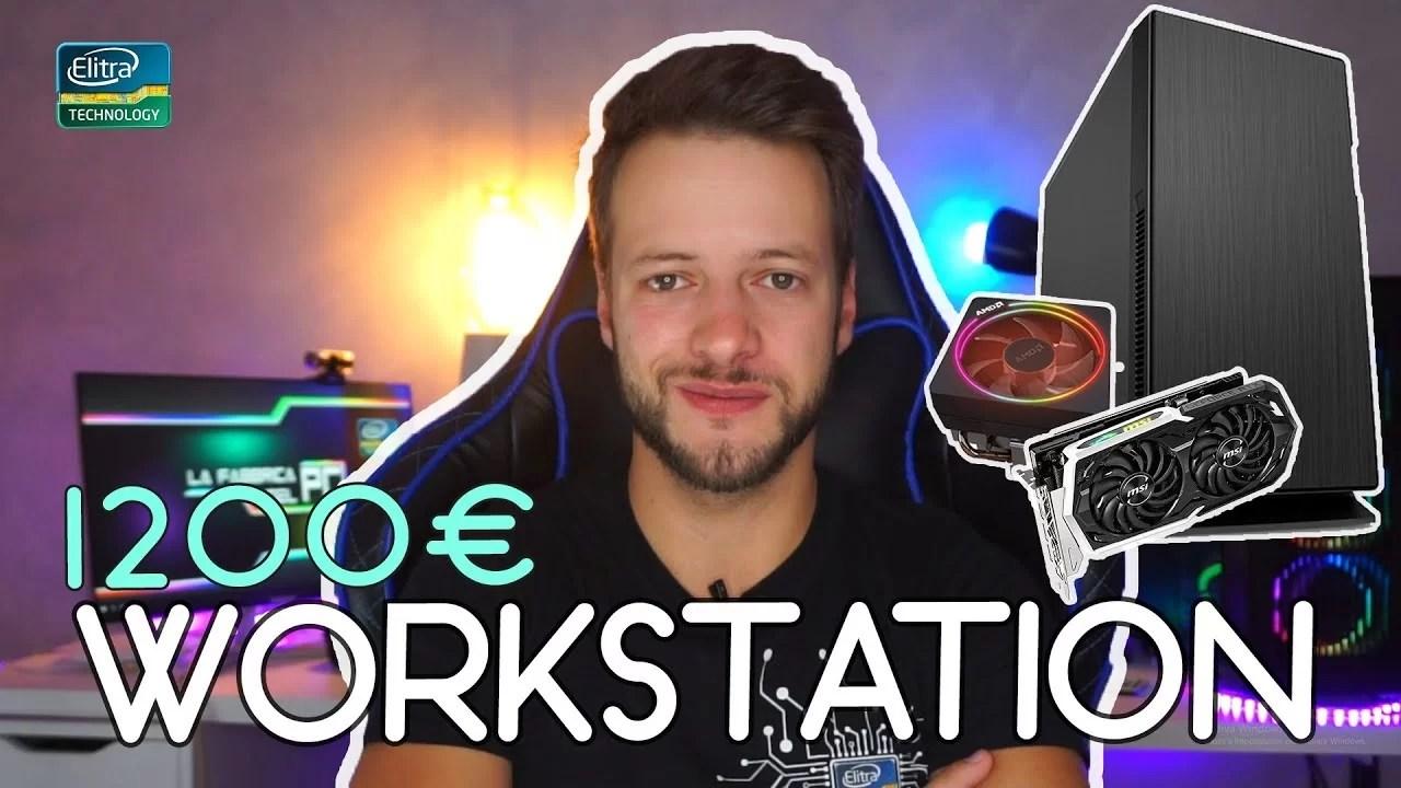 Configurazione PC WORKSTATION 1200€ | Lavoro Ufficio