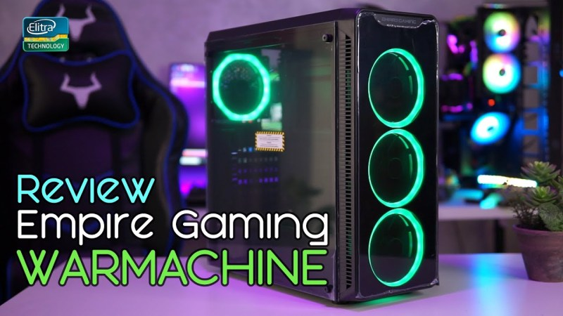 Case RGB ECONOMICO – Empire Gaming Warmachine