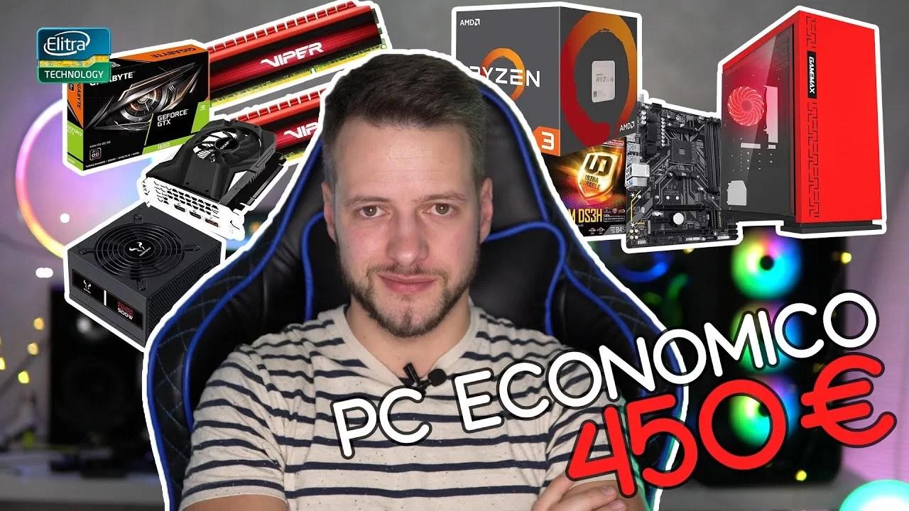 Configurazione PC economica 450€ – Dicembre 2019