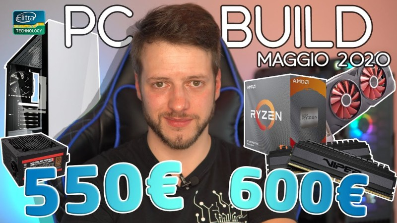 PC Build 550€ – 600€ con Ryzen 3 3100 | Maggio 2020