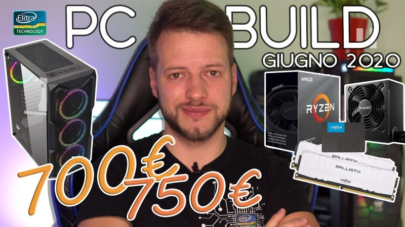 PC Build GAMING 700€ – 750€ EDITING STREAMING | Ryzen 5 GTX 1660 Super