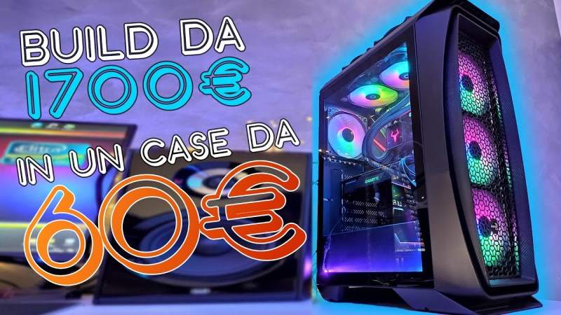 PC BUILD da 1800€ in un CASE ECONOMICO da 60€