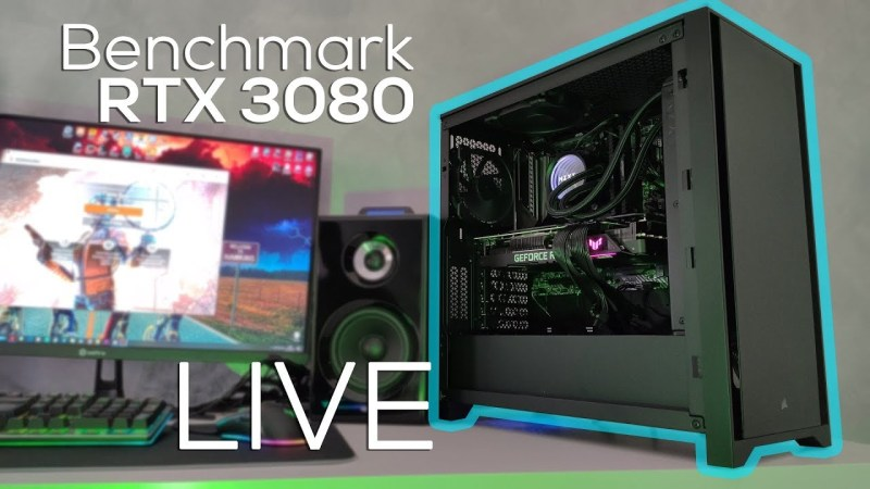 Benchmark e Gameplay Asus TUF RTX 3080